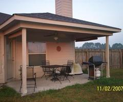 Backyard Covered Patio Pictures