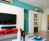 Dynamic Apartment Design for New Bride from Stanley Tham