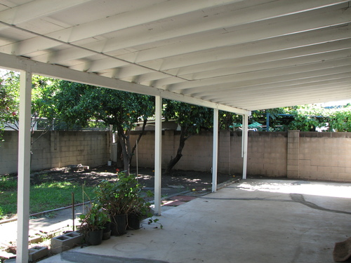 Backyard Covered Patio, Backyard Covered Patio