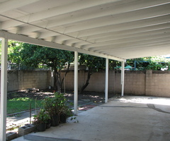 Backyard Covered Patio