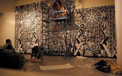 Large scale wall murals design ideas by famous graphic for Designer mural wallpaper