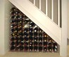 under stair design ideas with wine rack