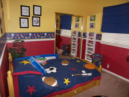 The Superior Sport Bedroom Ideas For Boys Sports / design ...