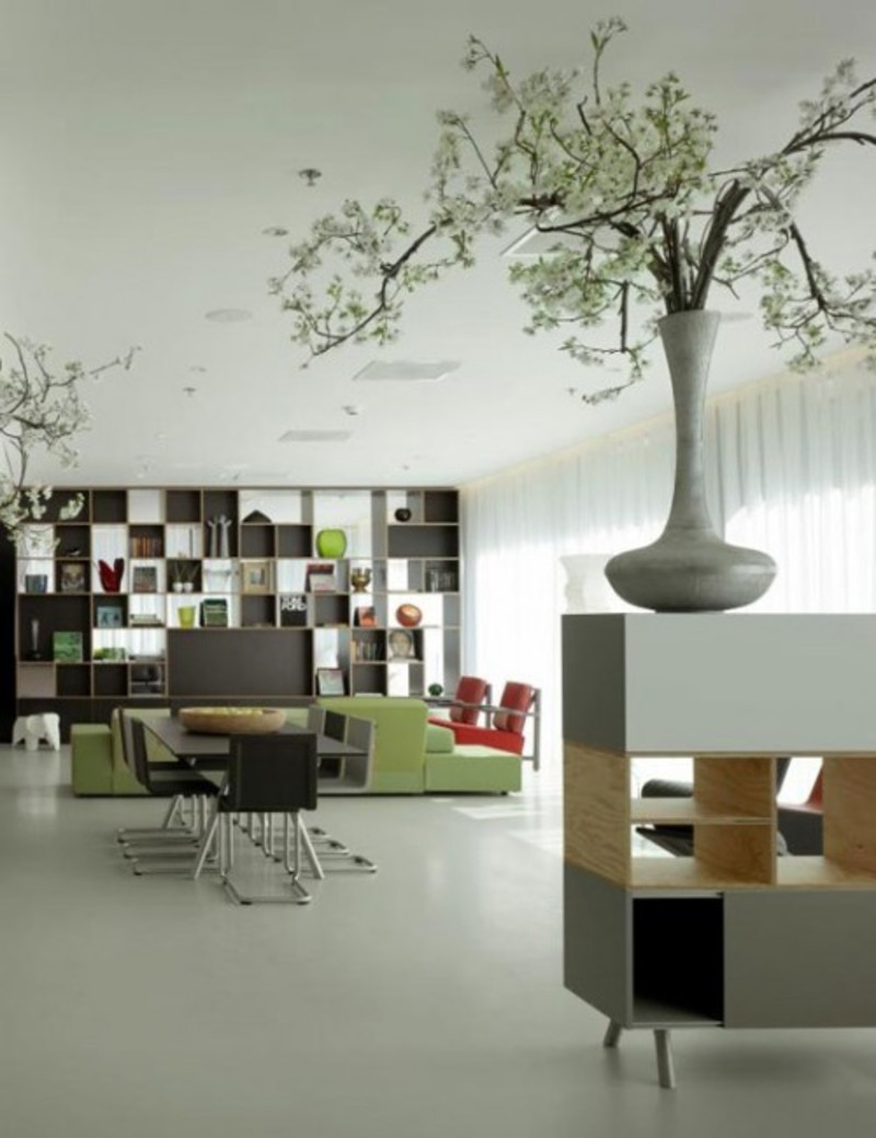 Conservation technique for go green interior design for Green interior designs