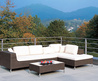 Modern Rattan Patio Furniture Set