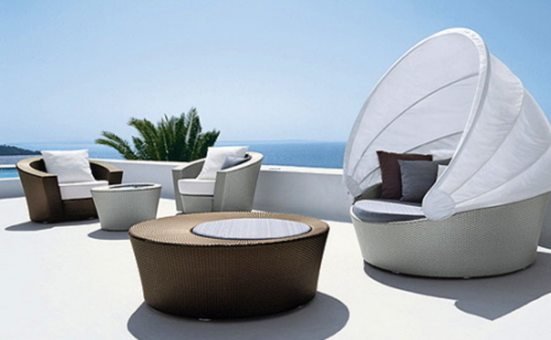Best options modern outdoor patio furniture design for Chaise de patio