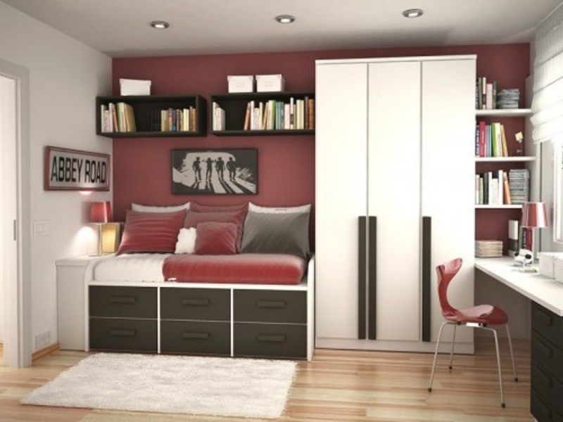 Teen Room Design Ideas, Modern and Cool Teenager Room Design Ideas by Sergi