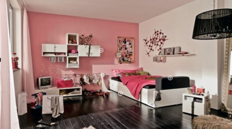 Teen Room Design Ideas, Best Teen Bedroom Interior Decorating Design Inspirations