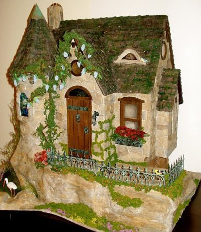 Custom styled dollhouse kits update on the fairy tale dollhouse cottage design bookmark 1884 - The dollhouse from fairy tales to reality ...