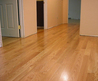Solid Hardwood floor design with light furnish