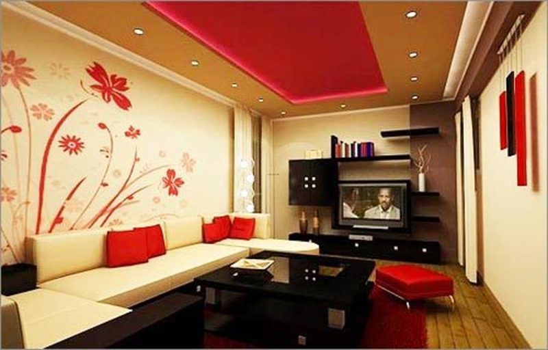 Wall painting beautiful decorating ideas photos and for Paint ideas for living room walls