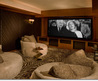 Custom Hollywood Hills Home Theater in the Esquire Design House