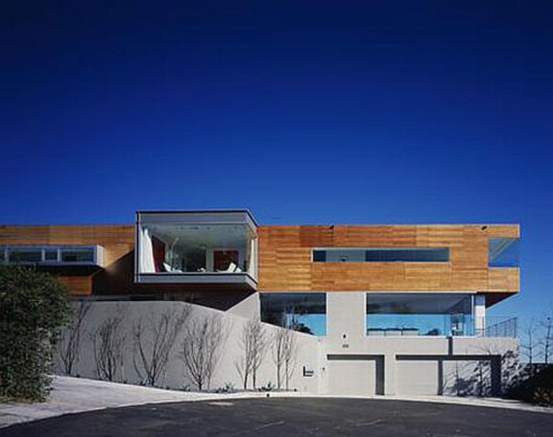 Hollywood hills bueth home by spf architects design for Home architecture firms