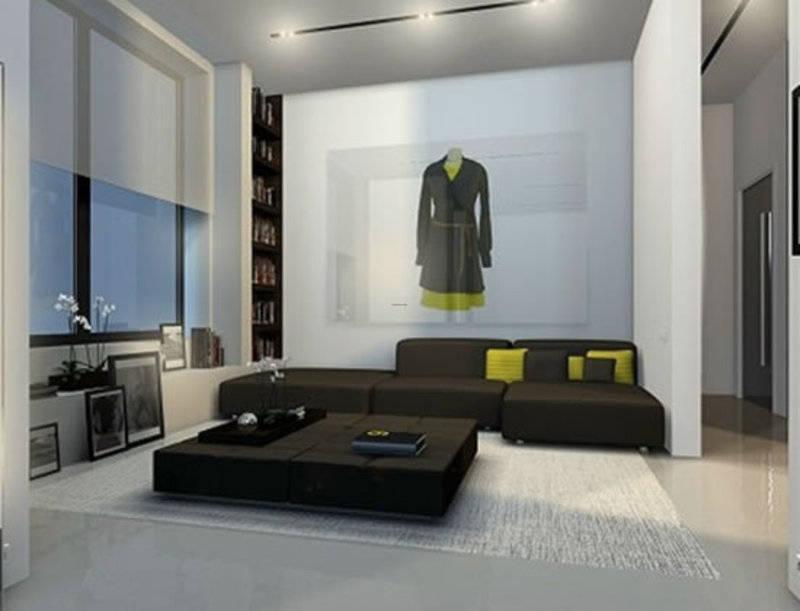 Modern Minimalist Apartment, 