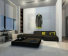 A modern minimalist apartment interior design by Dimaloginoff