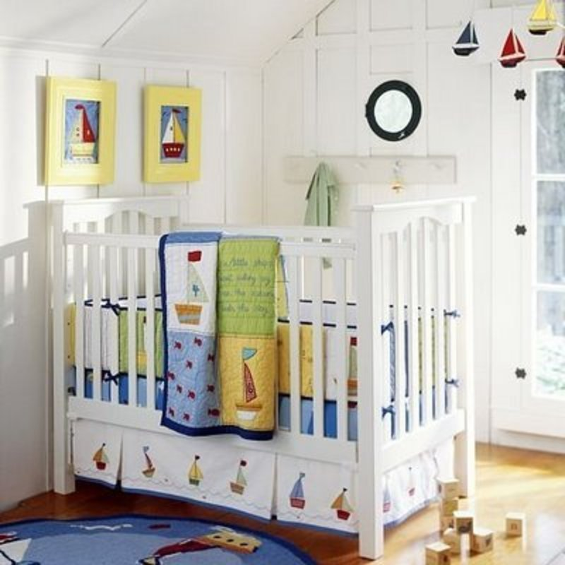 Baby Boy Nursery Themes: Mike And Mc Gee: Boy Nursery Ideas / Design Bookmark #1938