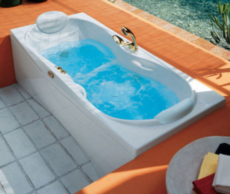jacuzzi bathroom design modern portable whirlpool bath design by
