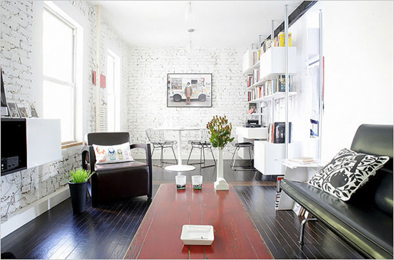 Modern Minimalist Apartment, Modern Minimalist Apartment Design Renovation East Village