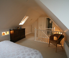 Loft conversion stunning bedrooms by design Hilcote