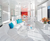 Modern Minimalist Apartment Interior by Christopher Coleman /  Home Trends