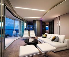 Modern Minimalist Apartment Interior Design Glamour Luxury Style