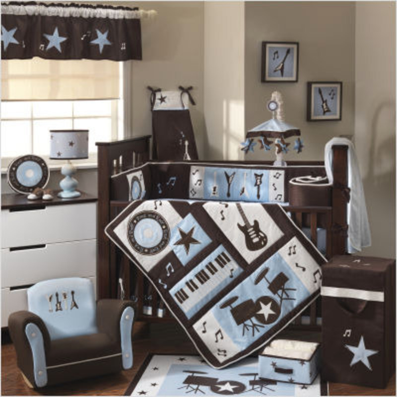 Nursery decorating ideas baby boy nursery themes and for Baby boy bedroom decoration