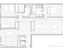 White Minimalist Apartment Interior Design – Apartment 3E by Vector Architects on Zeospot