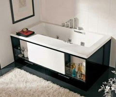 The Keops Evolution  Compact Modern Bathtub With Spa Features