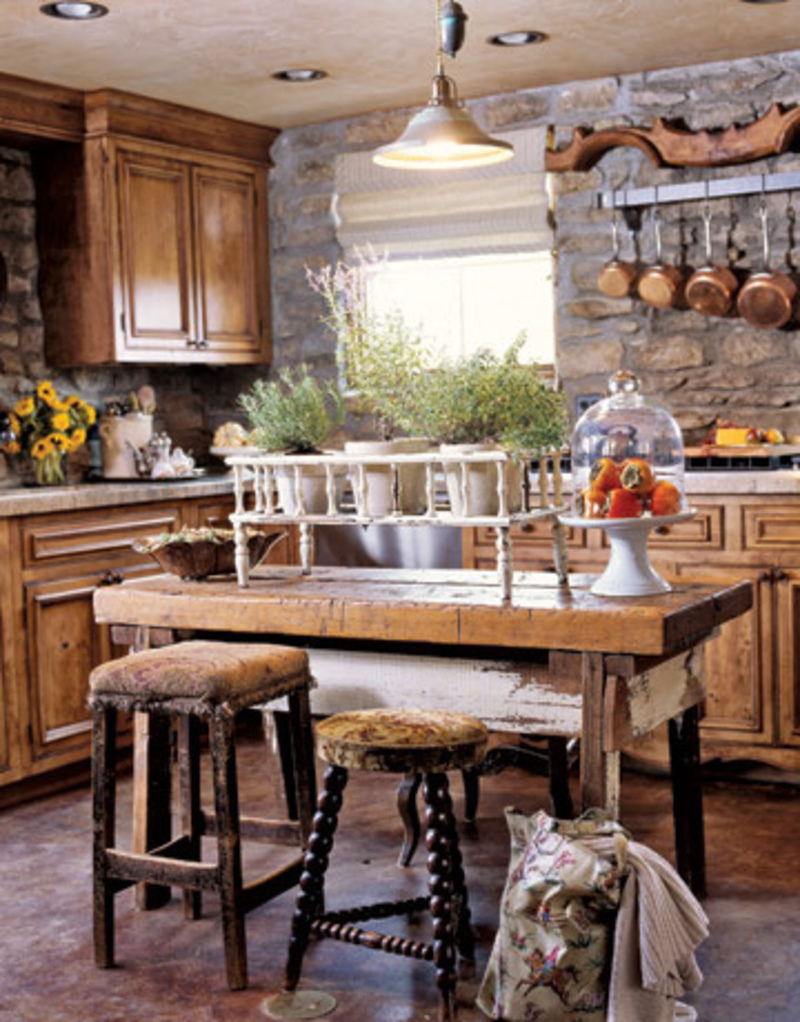 Rustic kitchen design ideas design bookmark 2000 for Kitchen decorating ideas photos