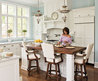 Chic Little House: I Heart White Kitchens