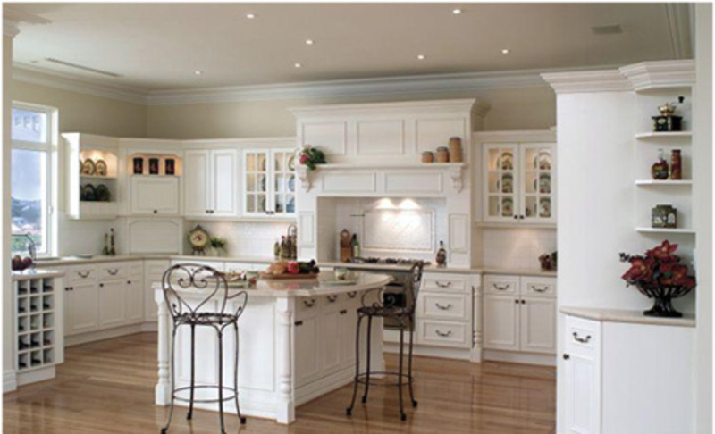 Painting Cabinets White, The Arctic Glow: Kitchen Designs with White Cabinets