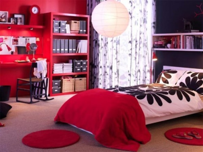 Ikea dorm room design for youth style inspiration design for Ikea teenage bedroom ideas