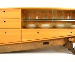 Coban Dining Room Buffet Made From Oak Hardwood And Recycled Materials