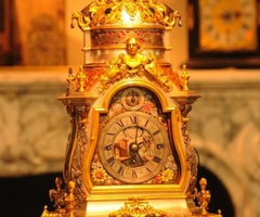 Antique Silver Mantle Clock Sold For $322,410 At  Masterpiece 2011 London Fair