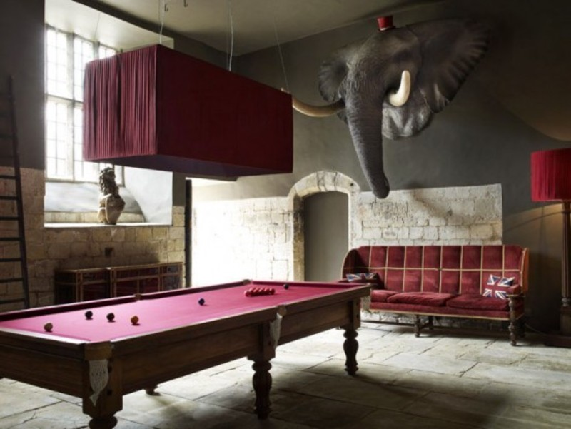 Billard Room Designs, 5 Outstanding Billiard Room Designs