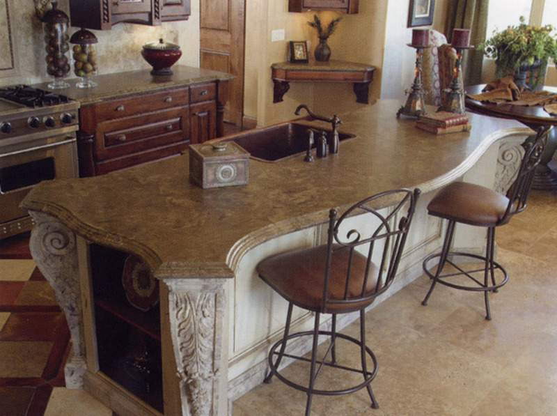 Stone Countertop Amazing With Natural Stone Countertops Kitchen Pictures