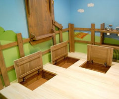 Custom made tree house room by Kidtropolis for your little ones
