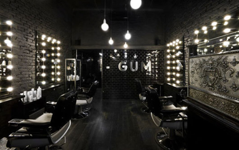 Modern Hair Salon Decorations, ?LUXURY HAIR SALON INTERIOR WITH BLACK ...