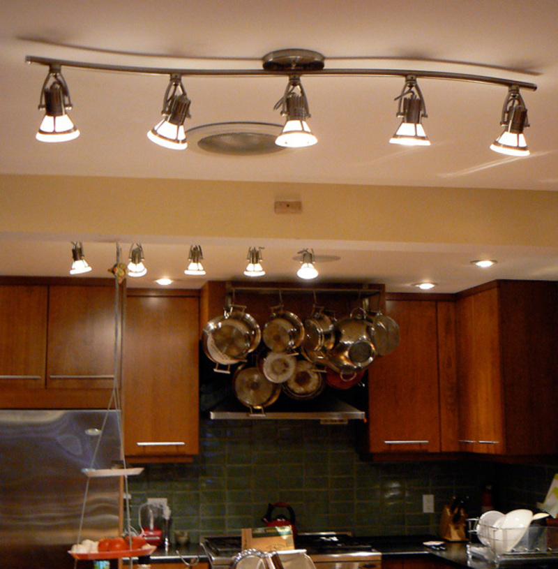 Kitchen Light Fixture Ideas: Led Kitchen Lighting Decoration / Design Bookmark #2143