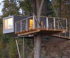 Modern Tree Living: Creative Treehouse Designs