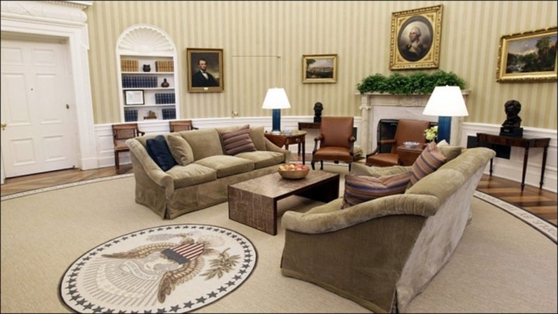 Office Waiting Room Design, Barrack Obama US Presidents New Oval Office