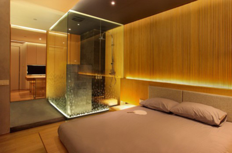 Modern Minimalist Apartment, Luxury Interior of Narrow Spaces Apartment in Jakarta, Indonesia