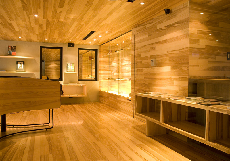 retail design showroom in wood design bookmark 2188
