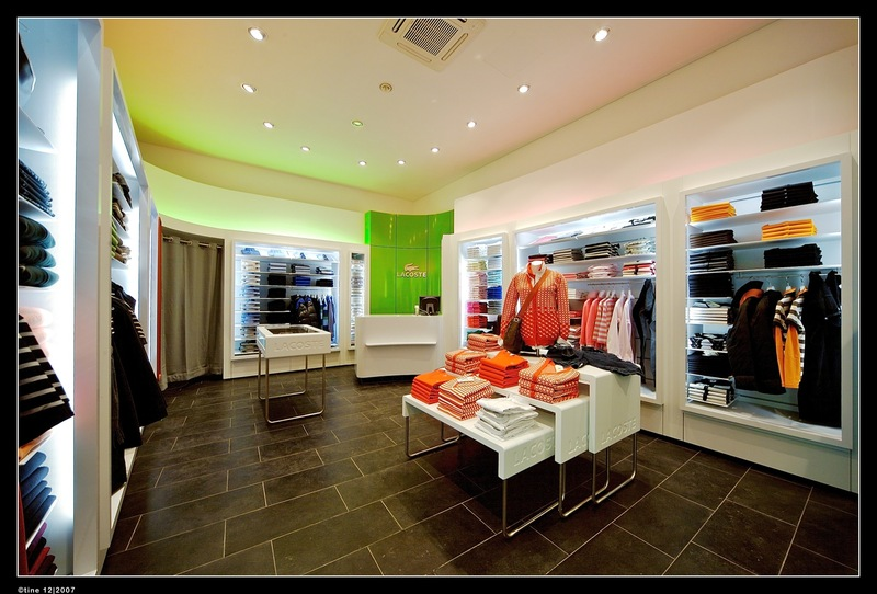 Modern fashion retail store interior design sample photos for Retail store exterior design
