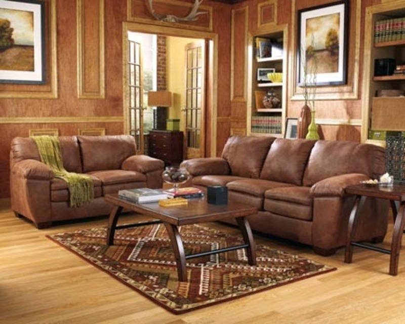 Wonderful Living Room with Brown Furniture 800 x 640 · 144 kB · jpeg