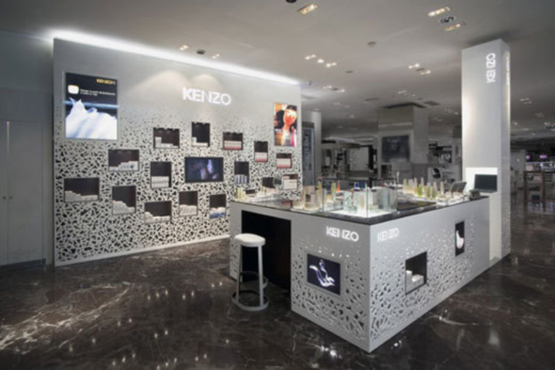 Kenzo perfumes store interior design home trends for Home interior decor stores