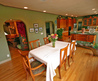 Country Home Dining Room Decorating Idea