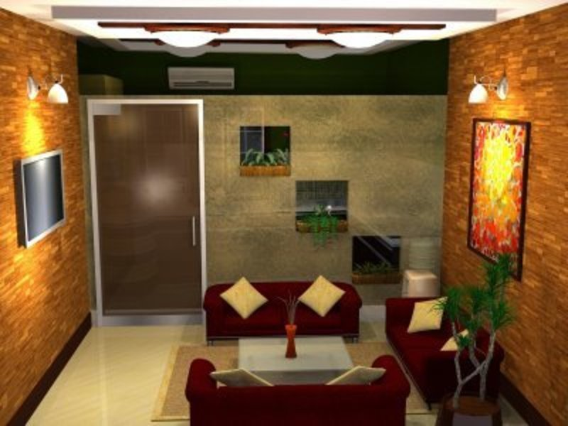 Office Waiting Room Design, My World in Three Dimensions!: Small Office Waiting Room