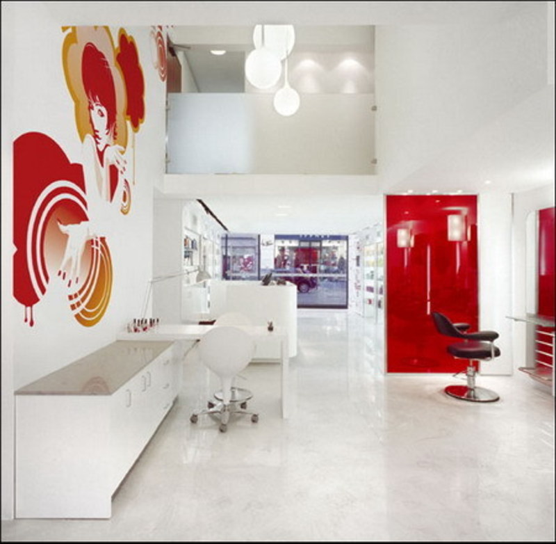 Colour in retail store and commercial store interior for Retail interior design