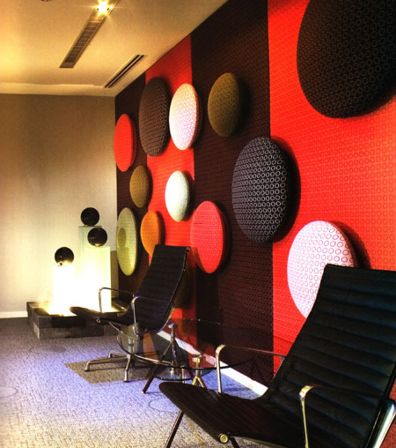 Office Waiting Room Design, Interior color is the Key Element in the Office Design